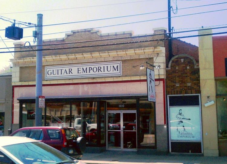 Guitar Emporium will close on March 9, 2013 (sad face)