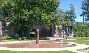 Tyler Park Fountain
