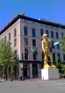 21C Museum Hotel | Downtown Louisville | Statue of David