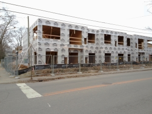Dundee Place Construction | Dundee and Yale | Highlands Apartments