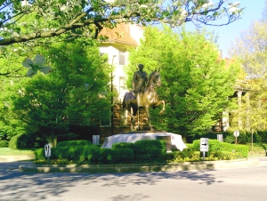 The Castleman Statue