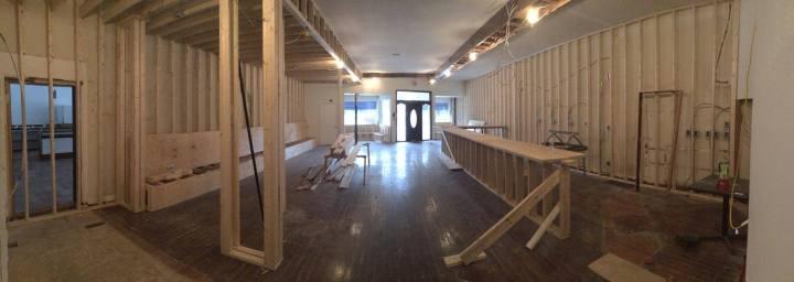 Louvino Buildout coming along