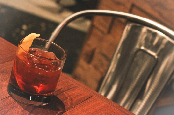The Old Fashioned at Stout Burgers and Beers